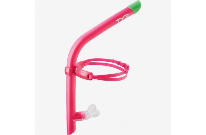TYR Pink Ultralite Snorkel 2.0 / Трубка для плавания, Аксессуары для плавания - в интернет магазине спортивных товаров Tri-sport!