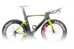 Wilier Twin Blade Crono'16 Ultegra Di2 WHRS010 черн./желый fluo / Велосипед для триатлона, Для триатлона - в интернет магазине спортивных товаров Tri-sport!