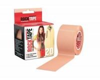 Rocktape H2O 5cm x 5m / Кинезиологический тейп экстра-водостойкий телесный