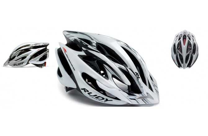 Rudy Project STERLING MTB WHITE/BLK/SIL /TIT MATTE L, Шлемы - в интернет магазине спортивных товаров Tri-sport!