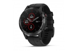 Garmin Fenix 5 Plus Sapphire Черный / Смарт-часы беговые с GPS, HR и Garmin Pay, Пульсометры - в интернет магазине спортивных товаров Tri-sport!