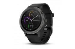 Garmin Vivoactive 3 Черный / Смарт-часы беговые с GPS, HR и Garmin Pay, Гаджеты - в интернет магазине спортивных товаров Tri-sport!
