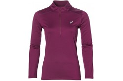Asics Ess Winter 1 / 2 Zip (W)/Рубашка Беговая Женская, Бордовая,  в интернет магазине спортивных товаров Tri-sport!