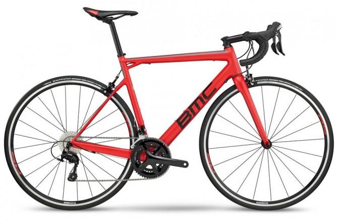 BMC Teammachine SLR03 ONE Red/Black/Grey 105 2018 / Велосипед шоссейный, Шоссейные - в интернет магазине спортивных товаров Tri-sport!
