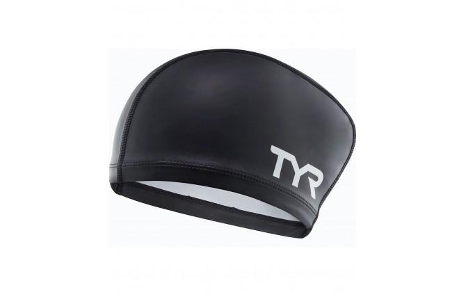 TYR LONG HAIR SILICONE COMFORT SWIM CAP / Шапочка плавательная комфортная для длинных волос женская, Шапочки - в интернет магазине спортивных товаров Tri-sport!