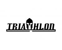 Триатлонец /Держатель для медалей Черный