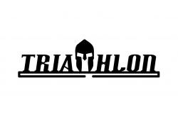 Триатлонец /Держатель для медалей Черный, Медаллеры - в интернет магазине спортивных товаров Tri-sport!
