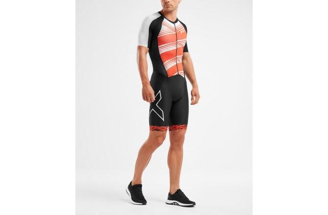 2XU Compression Sleeved FullZip Trisuit 2019 / Мужской стартовый компрессионный костюм с рукавами, Стартовые костюмы - в интернет магазине спортивных товаров Tri-sport!