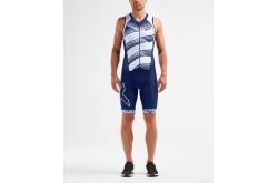 2XU Compression FullZip Trisuit 2019 / Мужской стартовый компрессионный костюм без рукавов, Триатлон - в интернет магазине спортивных товаров Tri-sport!