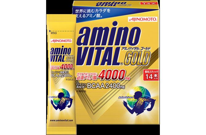 AJINOMOTO aminoVital Gold Грейпфрут / 14 пакетиков, Гели - в интернет магазине спортивных товаров Tri-sport!