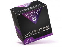 WOLFSPORT L-Карнитин 4500+ Q10 - Малина (1 амп.), L-Carnitine - в интернет магазине спортивных товаров Tri-sport!