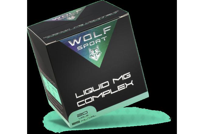 WOLFSPORT LIQUID MG COMPLEX / Магний-содержащий комплекс ананас (1 амп), Магнезия и солевые таблетки - в интернет магазине спортивных товаров Tri-sport!