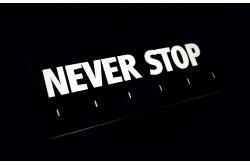 Never Stop /Держатель для медалей, Медаллеры - в интернет магазине спортивных товаров Tri-sport!