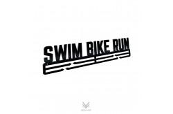 Swim Bike Run / Держатель для медалей@, Медаллеры - в интернет магазине спортивных товаров Tri-sport!