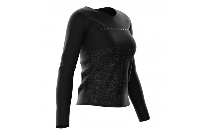 COMPRESSPORT TRAINING TSHIRT W - BLACK EDITION / Тренировочная футболка женская, Футболки, майки, топы - в интернет магазине спортивных товаров Tri-sport!