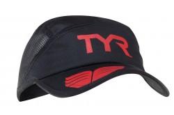 TYR Running Cap / Кепка беговая черная, Кепки, визоры, шапки, баффы - в интернет магазине спортивных товаров Tri-sport!
