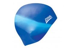 Zoggs Multi Colour Cap (голубой/синий ) / Шапочка для плававния