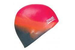 Zoggs Multi Colour Cap (оранжевый/серый)/ Шапочка для плававния
