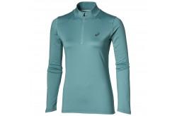 Asics Ess Winter 1 / 2 Zip (W)/Рубашка Беговая Женская, Бирюзовая,  в интернет магазине спортивных товаров Tri-sport!
