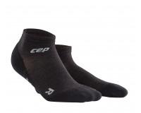 CEP Outdoor Light Merino Low Cut Socks / Мужские короткие гольфы для активного отдыха, тонкие с шерс