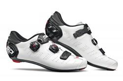 Велотуфли SIDI ERGO 5 MEGA Carbon белый/черный, Для шоссе - в интернет магазине спортивных товаров Tri-sport!