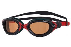 Zoggs Predator Flex Polarized Ultra (черный/красный), Очки для открытой воды и тренировок - в интернет магазине спортивных товаров Tri-sport!