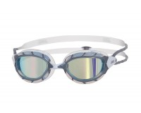 Zoggs Predator Mirror (серебро/зеркальный/белый) / Очки для плавания