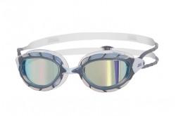 Zoggs Predator Mirror (серебро/зеркальный/белый) / Очки для плавания, Очки для открытой воды и тренировок - в интернет магазине спортивных товаров Tri-sport!