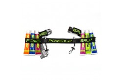 Powerup Belt / Пояс для номера черно-салатовый, Сумки и ремешки на пояс - в интернет магазине спортивных товаров Tri-sport!