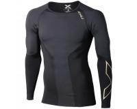 Мужская элитная компрессионная футболка дл.рук / 2XU Men elite compression top l/s