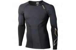 2XU elite compression top l / s / Мужская элитная компрессионная футболка дл.рук,  в интернет магазине спортивных товаров Tri-sport!