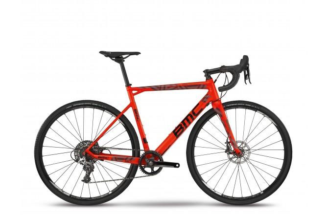 BMC Crossmachine CX01 TWO Red/Black/Grey 2018 / Велосипед кроссовый, Циклокроссовые - в интернет магазине спортивных товаров Tri-sport!
