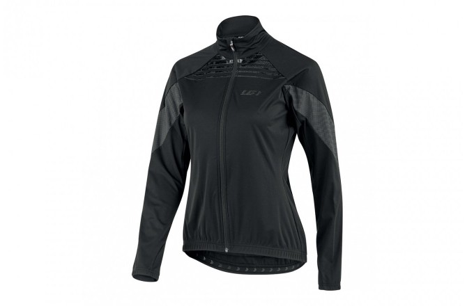 Louis Garneau W'S GLAZE RTR JACKET BLK / Куртка женская, Куртки и дождевики - в интернет магазине спортивных товаров Tri-sport!