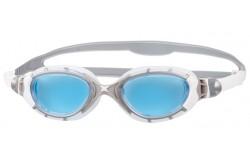 Zoggs Predator Flex (серебристый/белый) / Очки для плавания, Очки для открытой воды и тренировок - в интернет магазине спортивных товаров Tri-sport!