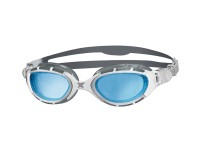 Zoggs Predator Flex (серебристый/белый) / Очки для плавания