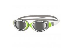 Zoggs Predator Flex Titanium (белый/зеленый) / Очки для плавания, Очки для открытой воды и тренировок - в интернет магазине спортивных товаров Tri-sport!