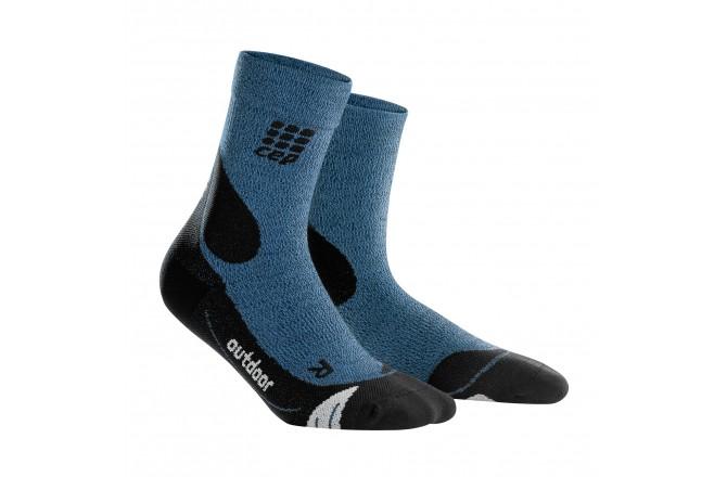 CEP Outdoor Merino Mid-Cut Socks / Мужские компрессионные носки, с шерстью мериноса, Утепленные - в интернет магазине спортивных товаров Tri-sport!