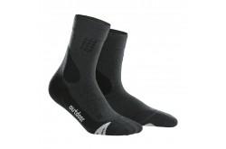 CEP Outdoor Merino Mid-Cut Socks / Женские компрессионные носки, с шерстью мериноса, Утепленные - в интернет магазине спортивных товаров Tri-sport!