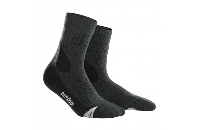 CEP Outdoor Merino Mid-Cut Socks / Женские компрессионные носки, с шерстью мериноса, Носки - в интернет магазине спортивных товаров Tri-sport!