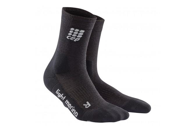 CEP Outdoor Light Merino Mid-Cut Socks / Мужские компрессионные носки, тонкие, с шерстью мериноса, Носки - в интернет магазине спортивных товаров Tri-sport!