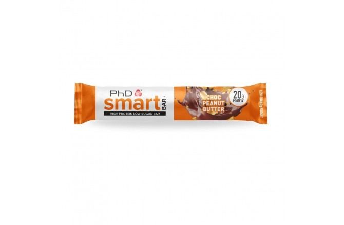 PhD Smart Bar Шоколад-Арахисовое Масло / Батончик протеиновый (65g), Батончики - в интернет магазине спортивных товаров Tri-sport!