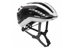 Scott Centric PLUS white/black  / Шлем велосипедный