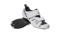 Scott Road Tri Pro gloss white/black / Велотуфли для триатлона