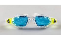 Aqua Sphere Mako , White+red obsession / Очки для плавания (голубые линзы), Очки для открытой воды и тренировок - в интернет магазине спортивных товаров Tri-sport!