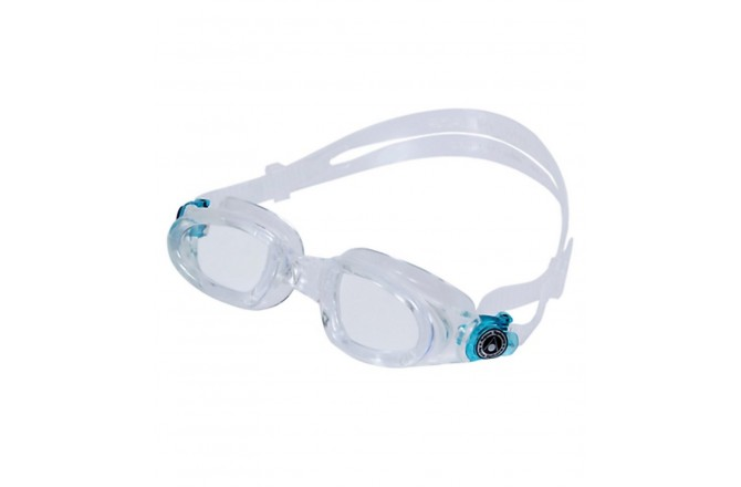 Aqua Sphere MAKO (прозрачные линзы, голубые пряжки) / Очки для плавания, Очки для открытой воды и тренировок - в интернет магазине спортивных товаров Tri-sport!