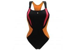 Aqua Sphere SISKIN Black/Light Orange / Купальник женский,  в интернет магазине спортивных товаров Tri-sport!
