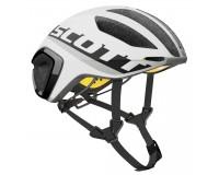 Scott Cadence PLUS white/black / Шлем велосипедный