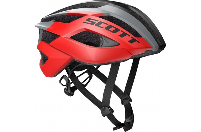 Scott Arx red/stellar grey  / Шлем велосипедный, Шлемы шоссейные - в интернет магазине спортивных товаров Tri-sport!