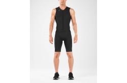 2XU Compression FullZip Trisuit / Мужской компрессионный стартовый костюм без рукавов, Триатлон - в интернет магазине спортивных товаров Tri-sport!