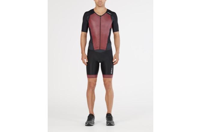 2XU PerformFullZip Sleeved Trisuit Men 2018 / Стартовый костюм мужской с длинной молнией и рукавами, Стартовые костюмы - в интернет магазине спортивных товаров Tri-sport!